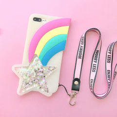 rainbow star case