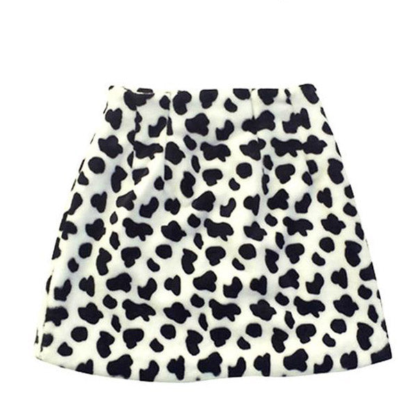 Shaggy Cow Skirt