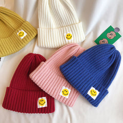 smile beanie hat boogzel apparel aesthetic clothes