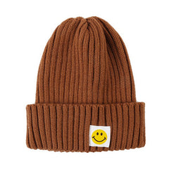 fake smile beanie hat boogzel apparel