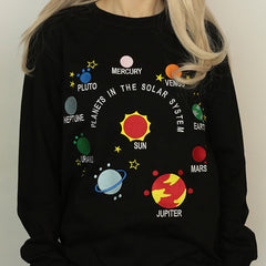 solar system embroidery boogzel