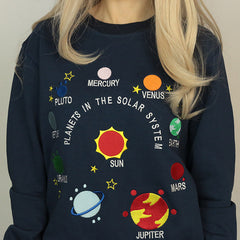 space embroidery sweatshirt boogzel