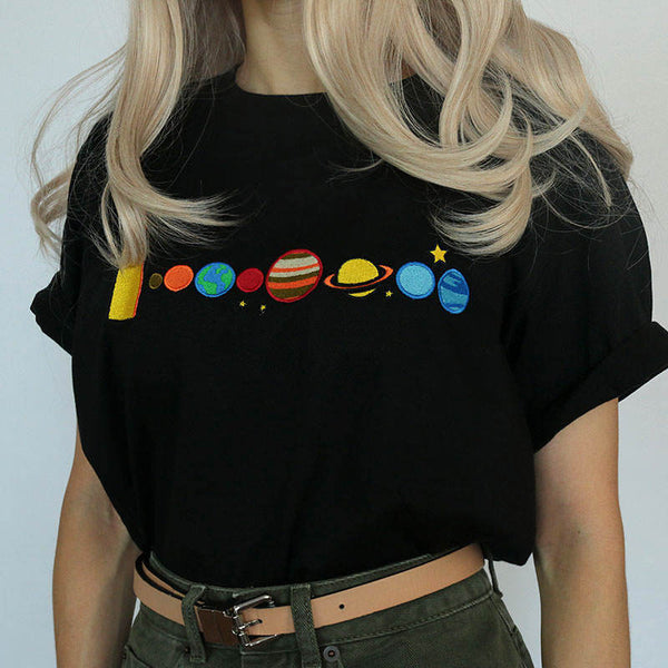 Dressed For Space Tee, S, M, L, XL