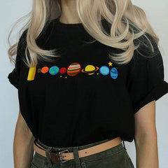 planet solar system space t-shirt boogzel apparel