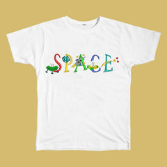 Space Embroidered Tee