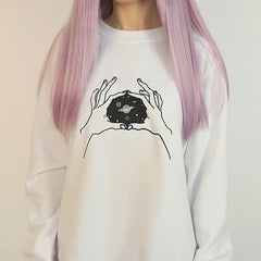 space tumblr sweatshirt boogzel apparel
