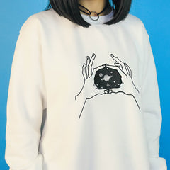 inner space sweatshirt boogzel apparel