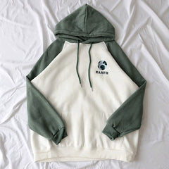 earth embroidery hoodie boogzel apparel