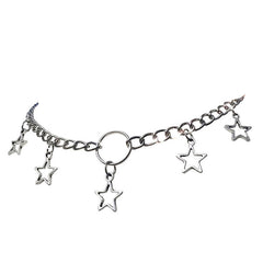 star chain choker aesthetic clothes boogzel apparel