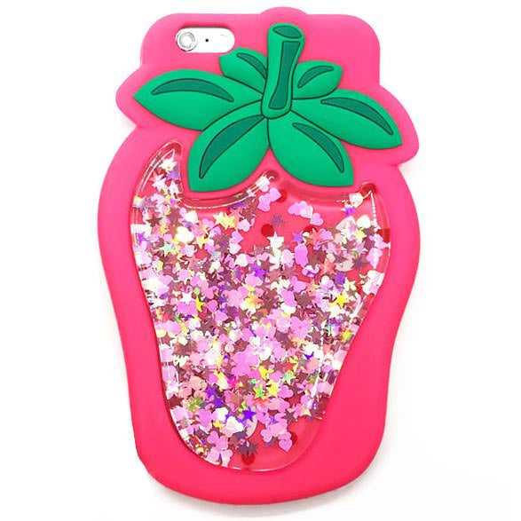 Strawberry Waterfall IPhone Case
