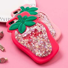 Strawberry liquid IPhone Case
