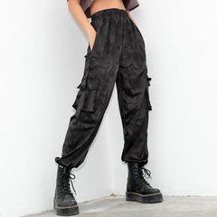 Chinese Dragon Cargo Pants