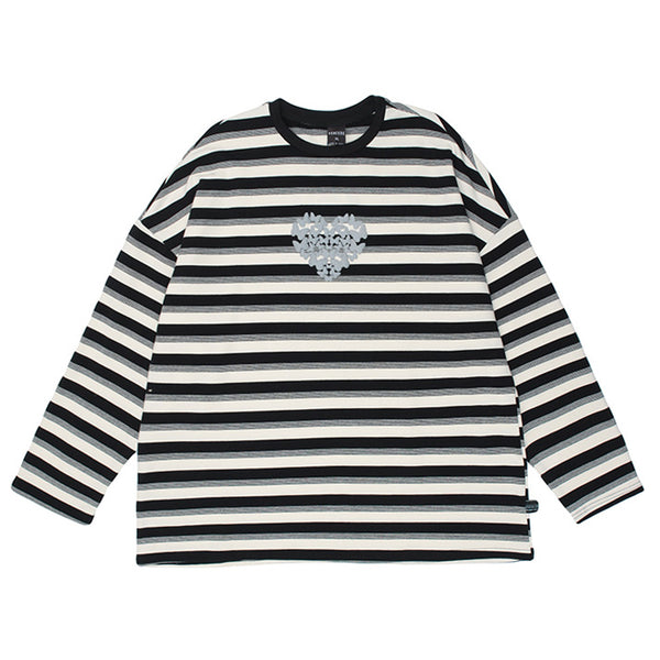 Butterfly Striped Long Sleeve Tee