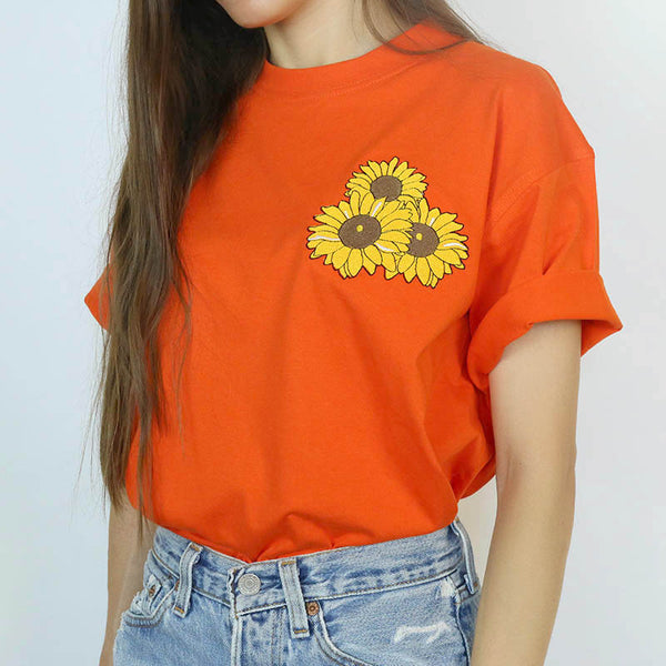 Sunflower T-Shirt, Size M
