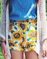 Sunflower Shorts Boogzel Apparel shop