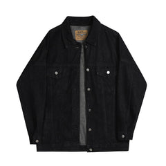 denim jacket black png
