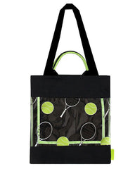 Tennis shuttlecock shoulder bag boogzel apparel
