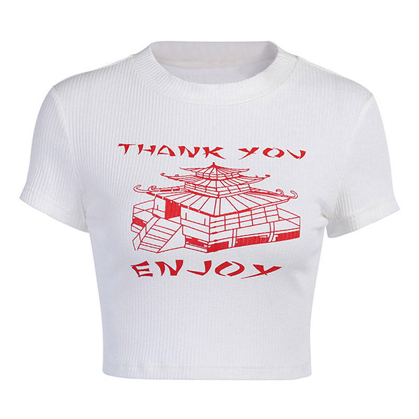 Thank You Ribbed Tee