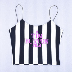 A TIM BURTON TANK top bpogzel apparel