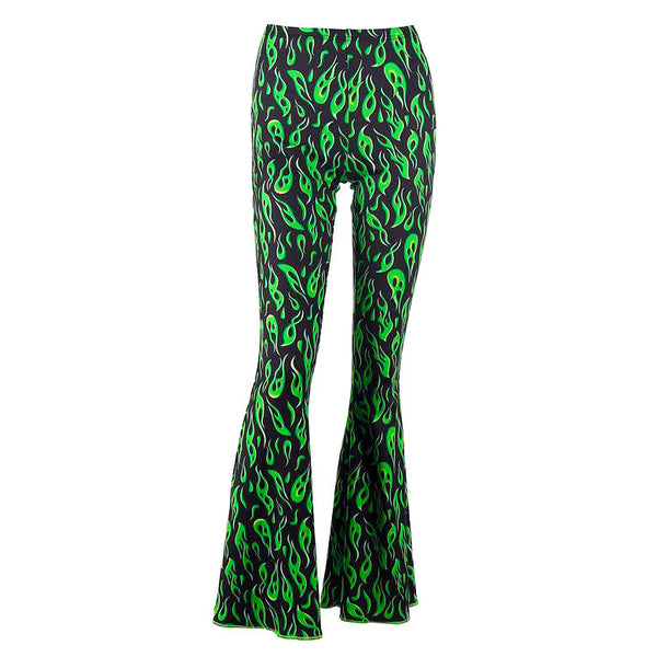 Toxic Flame Flared Pants