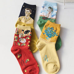 2.0 Art Series 4 Pack Socks