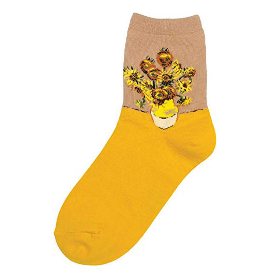Van Gogh's Sunflowers Socks