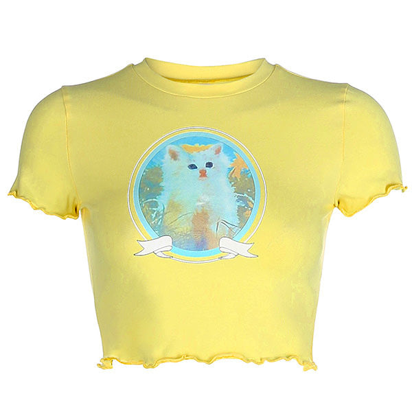 Kitty Love Baby Tee