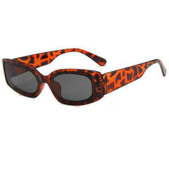 leopard square sunglasses boogzel apparel
