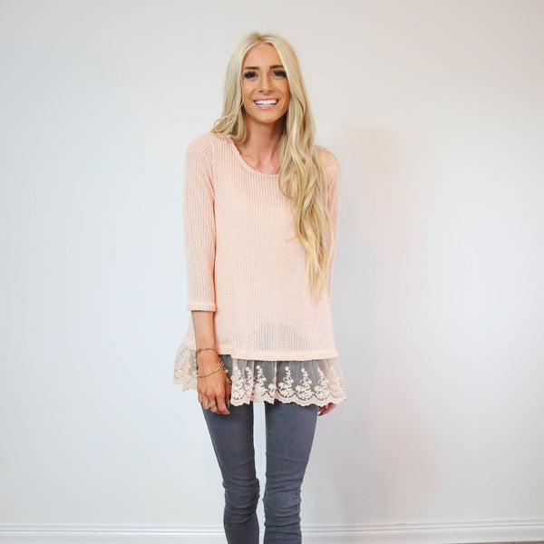 Taisley Blush Top