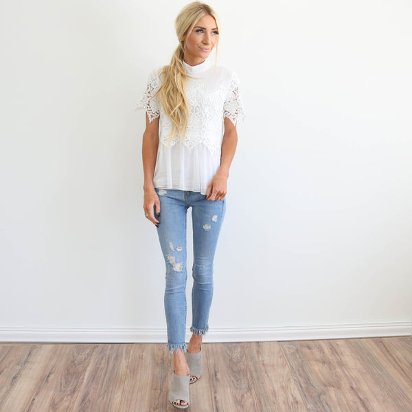 Cynthia Lace Top