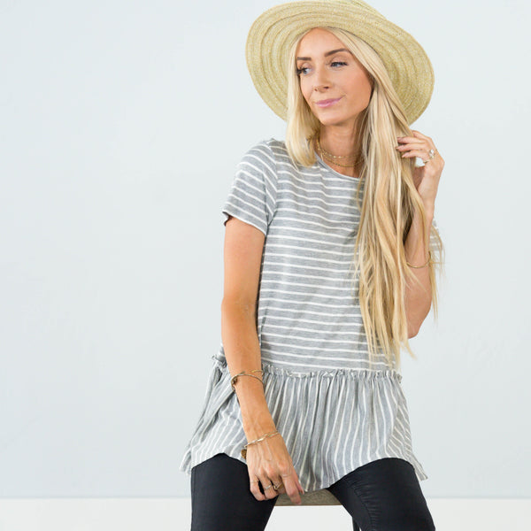 Meera Stripe Top