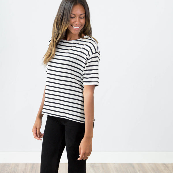 Iris Stripe Top