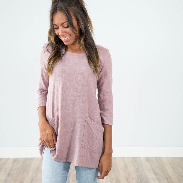 Pearl Textured Top