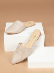 Pointed Toe Slip On Loafers