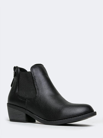 Low Heel Chelsea Boot