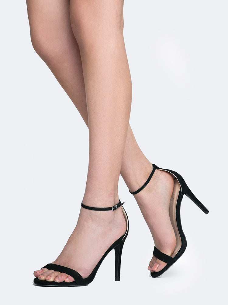 Buckle Ankle Strap High Heel