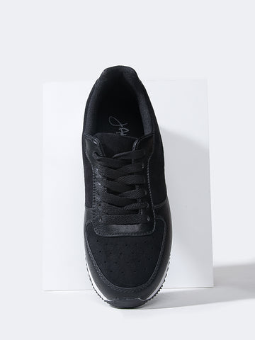 Lace Up Sneaker Platform
