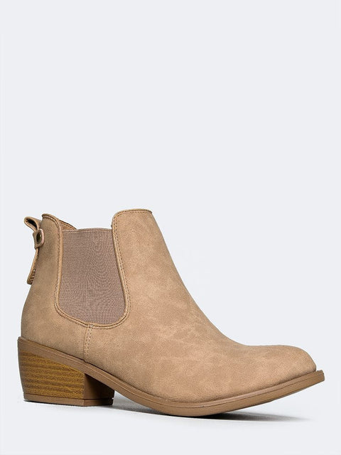 Low Chelsea Ankle Boot