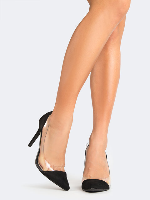 fc34ffb5988 Clear Pointed Toe Pumps Clear Pointed Toe Pumps ...