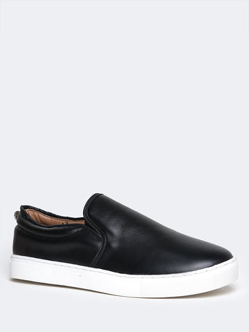 Round Toe Slip On