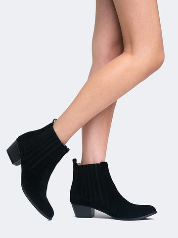 Chelsea Ankle Western Bootie