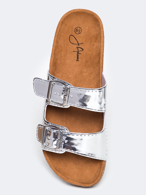 Open Toe Slide Sandal