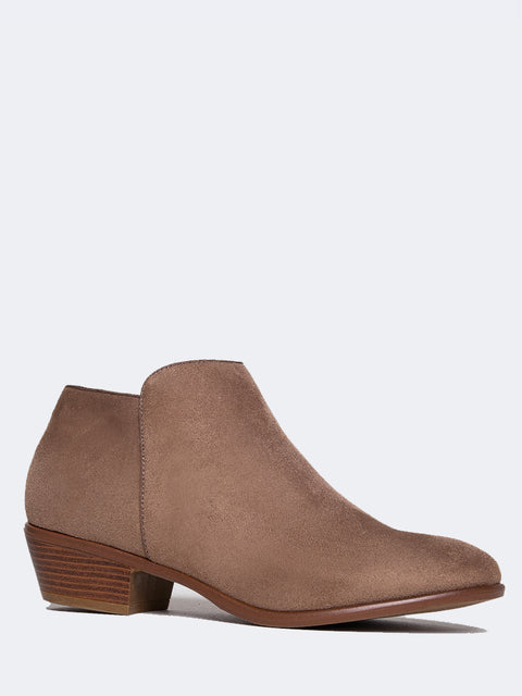 Closed Toe Casual Bootie