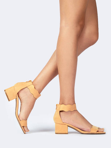 Open Toe Ankle Strap Sandal