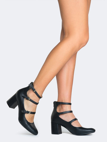 Mary Jane Heel Pumps
