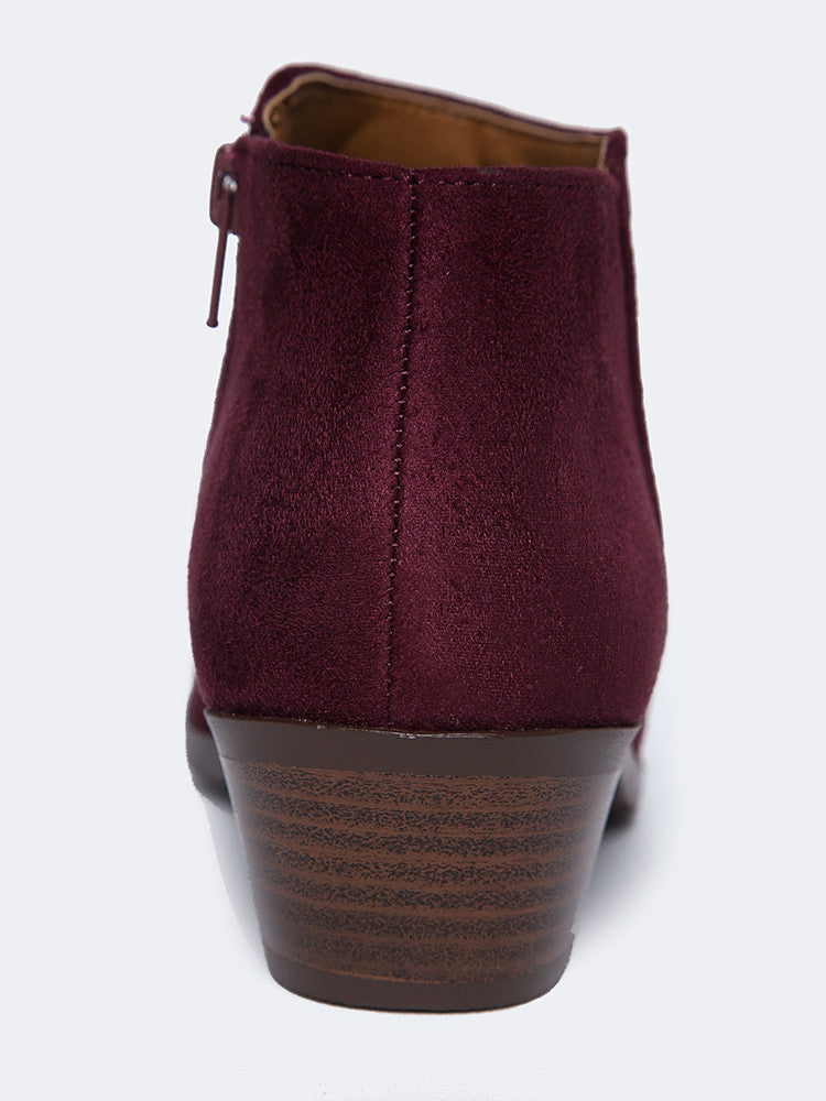 Low Ankle Western Bootie