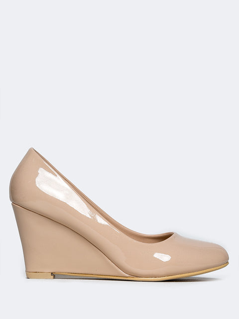 Closed Toe Wedge Heel