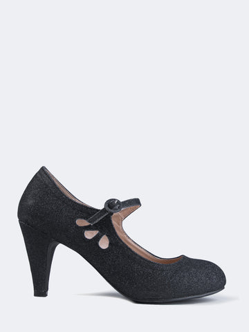 Mary Jane Kitten Heel