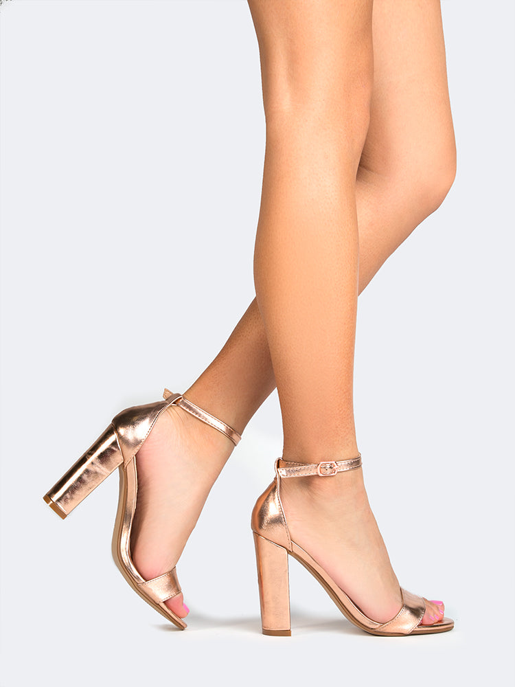 Chunky Block High Heel