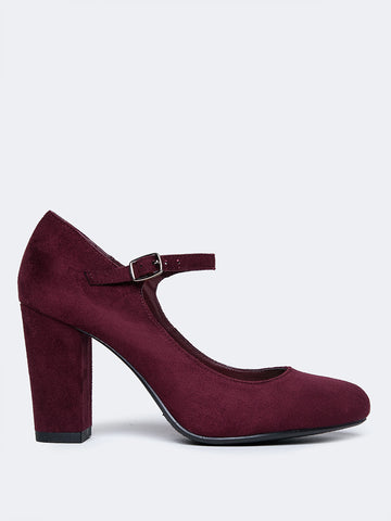 Mary Jane Round Toe Heel